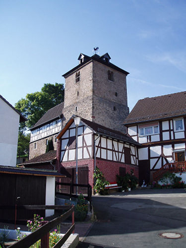 Wehrkirche in Gilfershausen